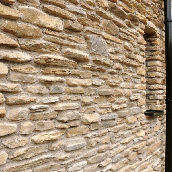 detailfoto steenstrips type blumone