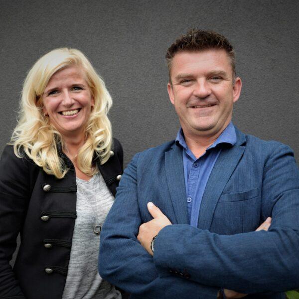 Directeur Stefan van Strien van Strikolith en Claudia Koppenhagen, Projectadviseur.