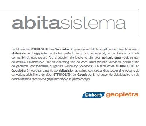Strikotherm Isolatie in combinatie met Steenstrips van Geopietra - duurzaam bouwen.