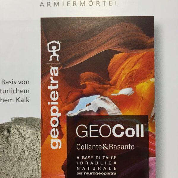 Geocoll lijm voor Steenstrips.