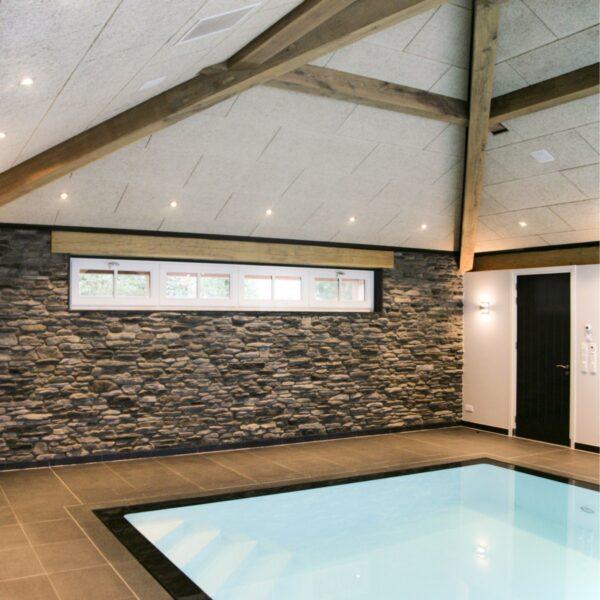 Blumone GP wandbekleding. Overdekt zwembad. Realisatie Roordink Architecten.