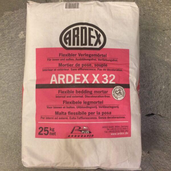 Zak Ardex X32 lijm.
