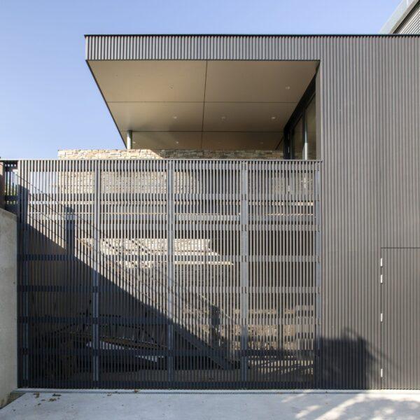 Moderne architectuur met Steenstrips.