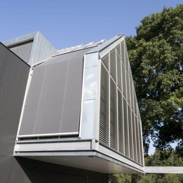 Moderne vormgeving huis met Steenstrips