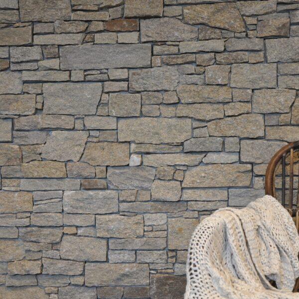 Steenpaneel zand - stijlvolle muur.