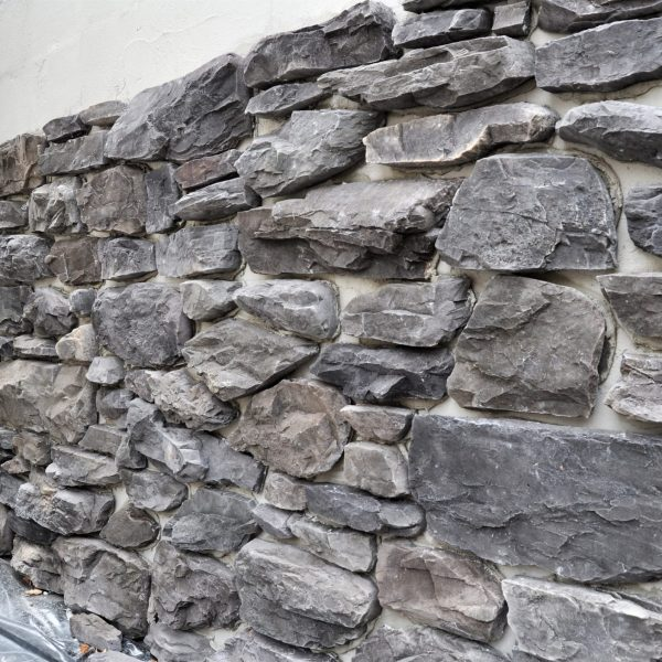 Opbouw muren Steenstrips.