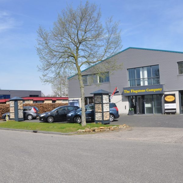 Showroom van The Flagstone Company in Vaassen