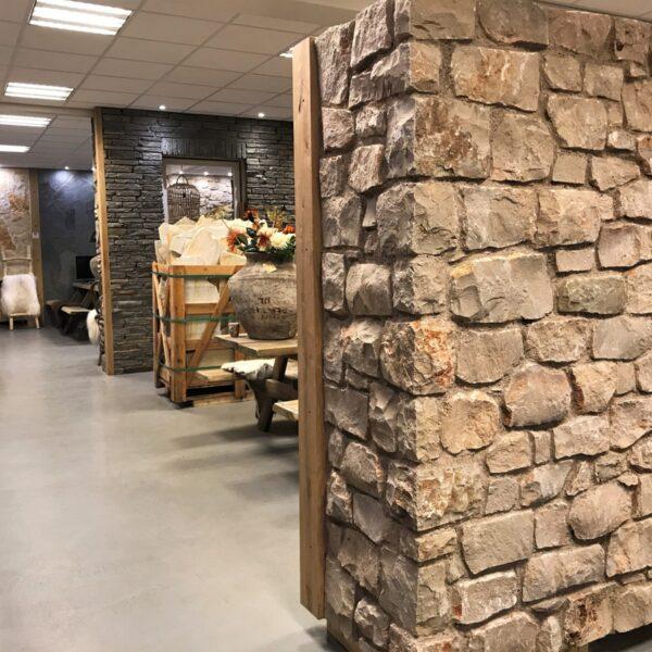 Steenstrips Rocks - Mokka