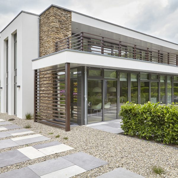 Villa met Steenstrips, Fotografie Dré Wouters, The Art of Living magazine