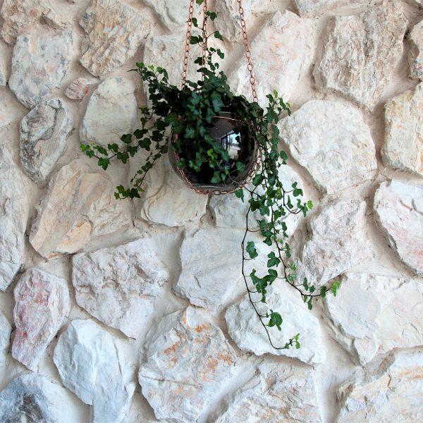 Rocks steenstrips binnenmuur