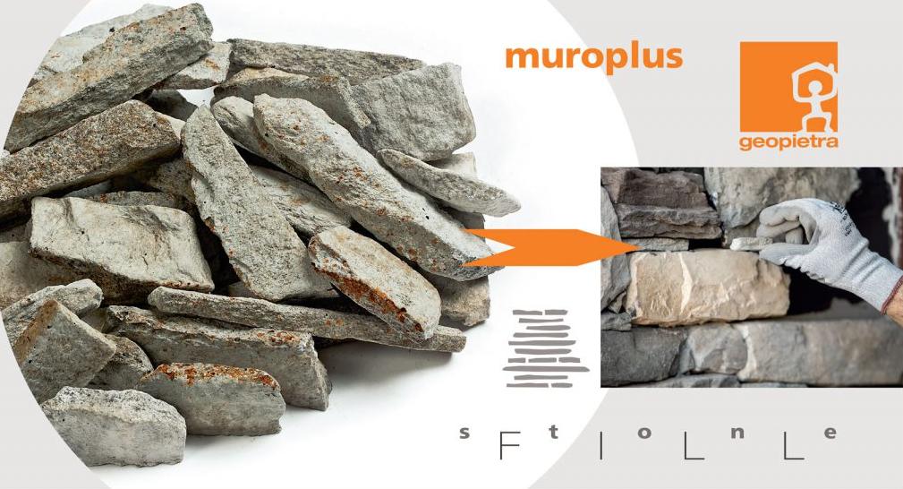 Extra tegen meerprijs: Kleine opvulstukjes voor koud geplaatste muren - natuursteen