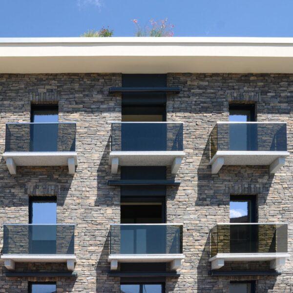 Vesio Steenstrips gevel appartement