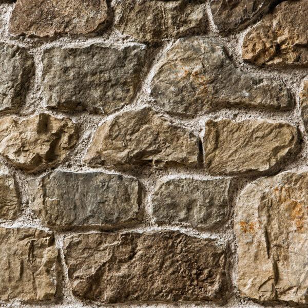 Steenstrips muur Botticino in de kleur MT