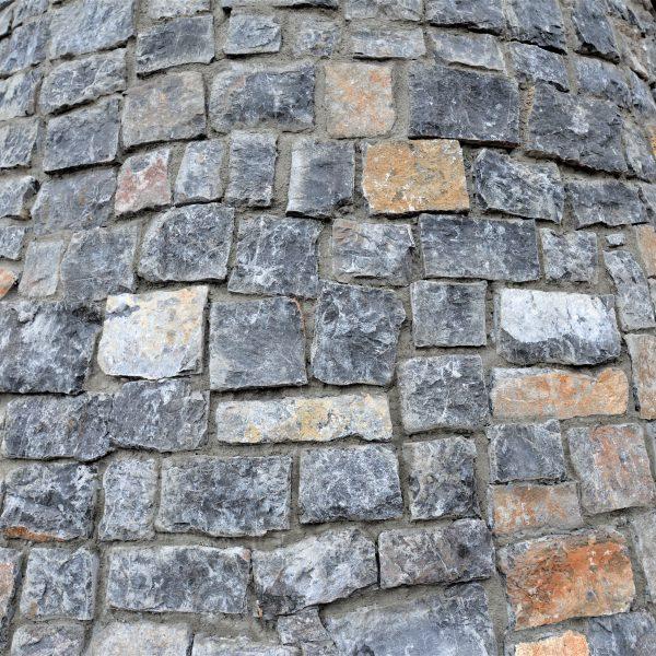 Rocks Zwart - Steenstrips voor binnen en buiten.