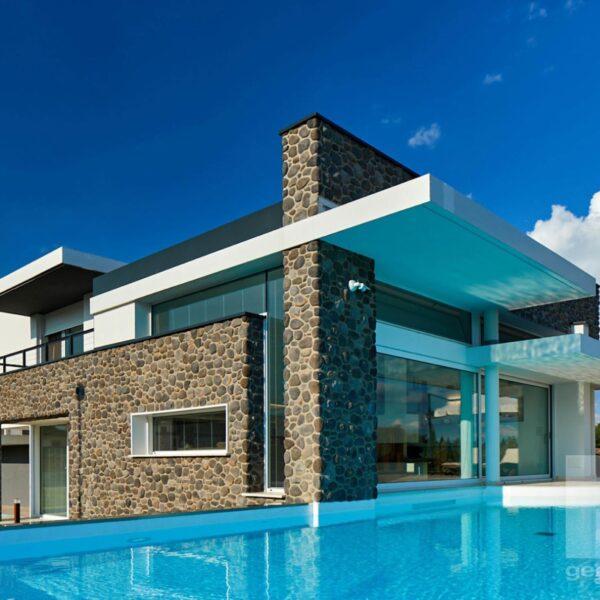 Sasso Fiume moderne kubistische villa