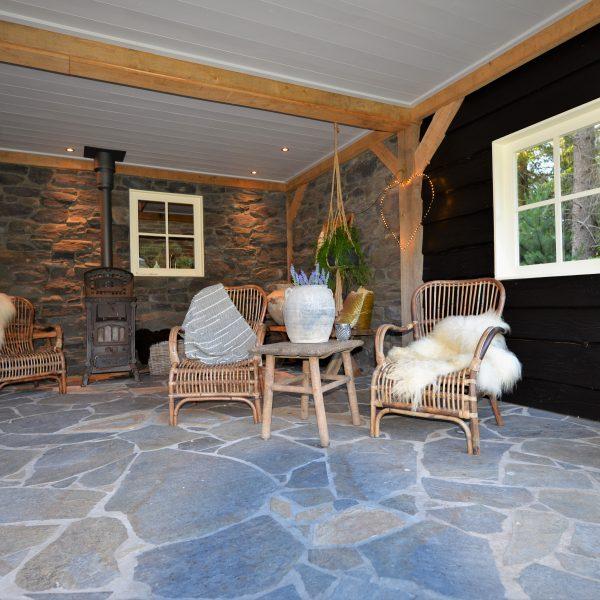 Steenstrips veranda - Cascata