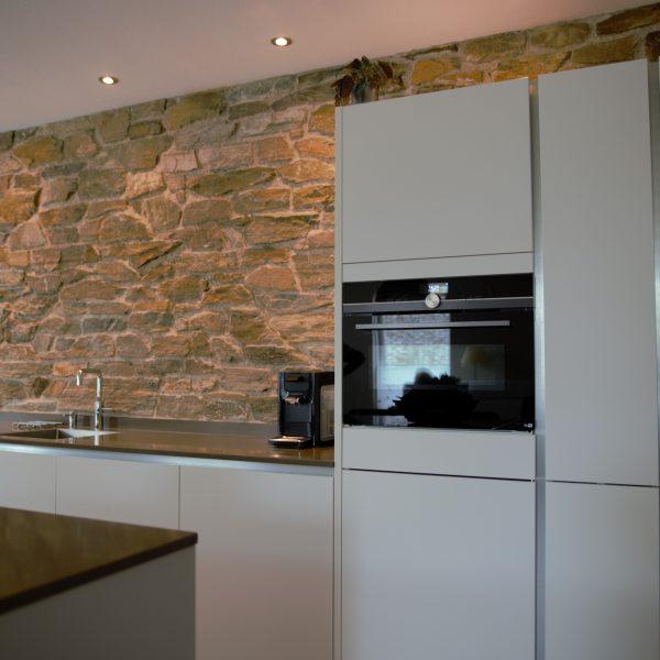 Keukenmuur van Rocks.