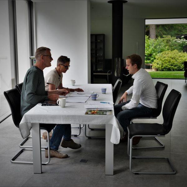 Aan tafel met The Flagstone Company
