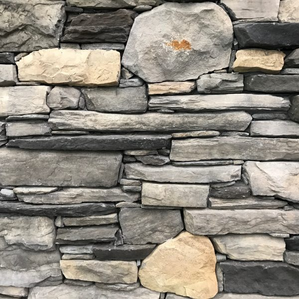 Geofit opvulstenen werken een koud geplaatste muur perfect af