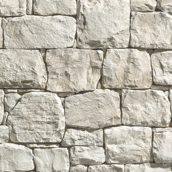 Geopietra steenstrips wit