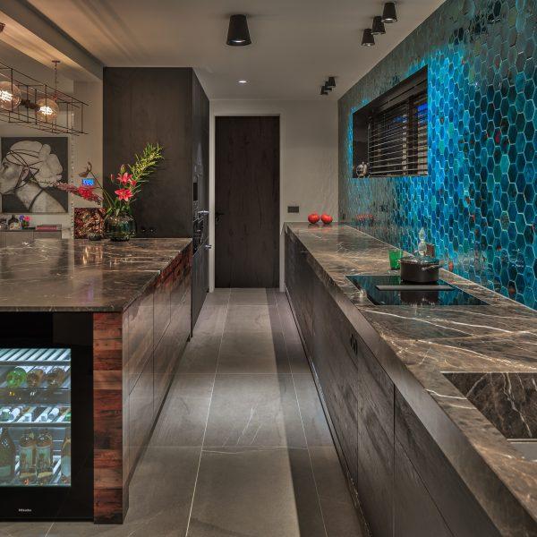 De keuken van Osiris' showhuis