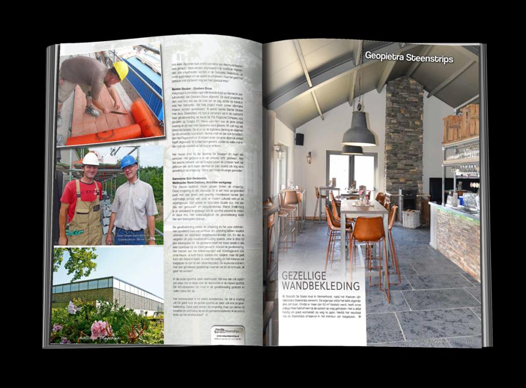 Inspiratiebron, Het Flagstone magazine