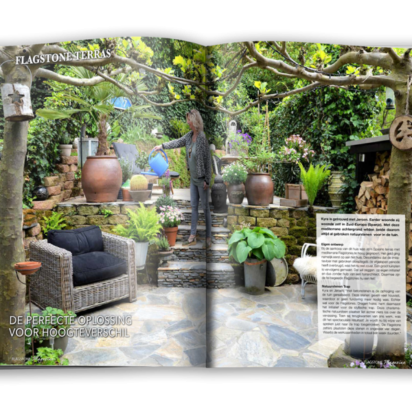 Flagstone magazine open inspiratie