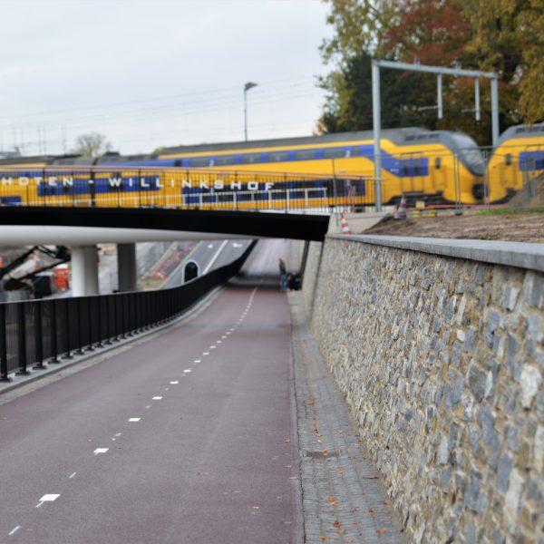 Wandbekleding Steenstrips Station