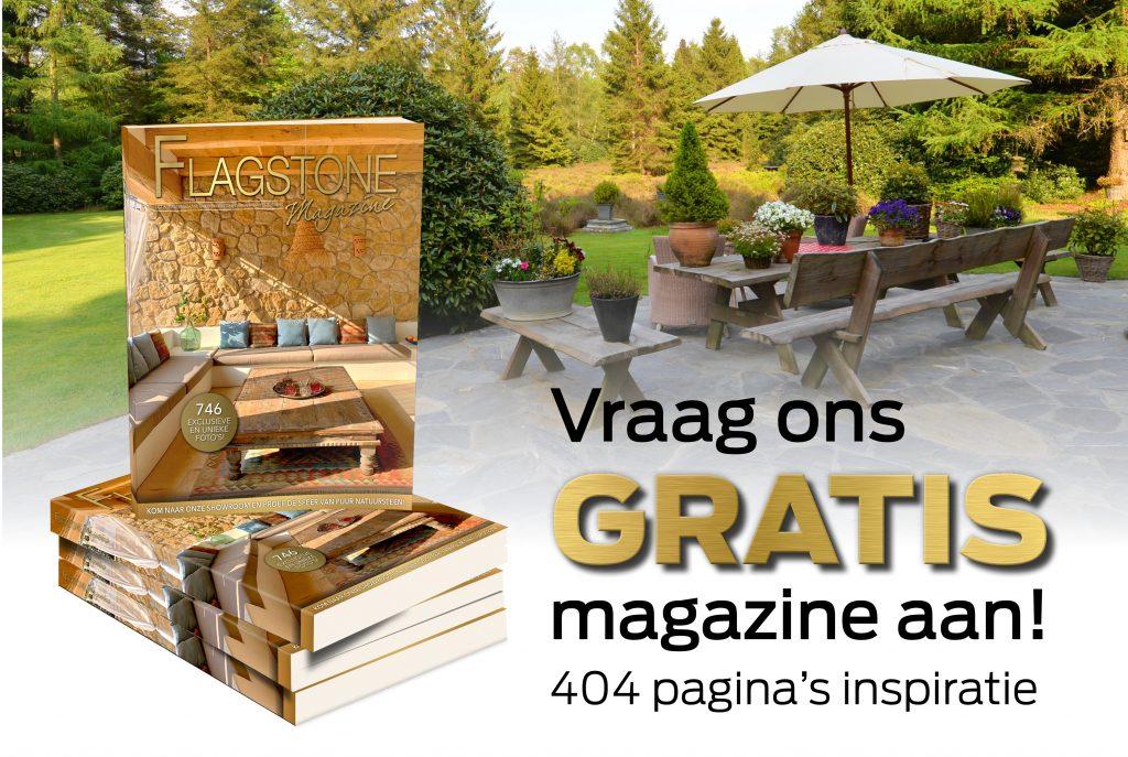 Het Flagstone Magazine gratis te verkrijgen via onze website.