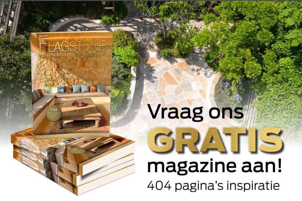 Vraag het Flagstone Magazine Gratis aan