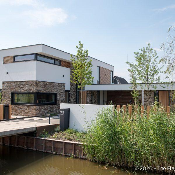 De prachtige kubistische villa in Nesselande
