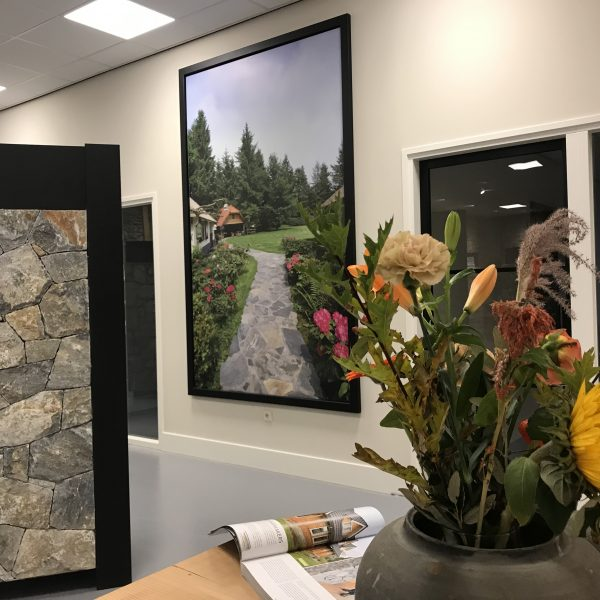 Prachtig portret in de nieuwe showroom
