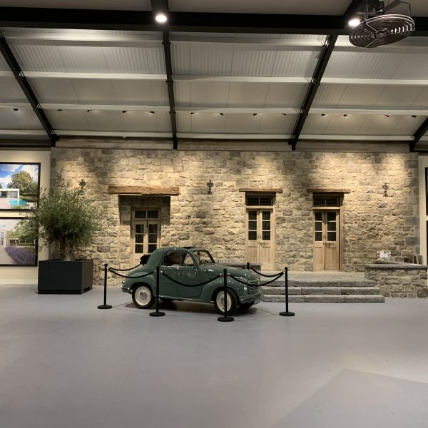 De Fiat Topilino in de vernieuwde showroom
