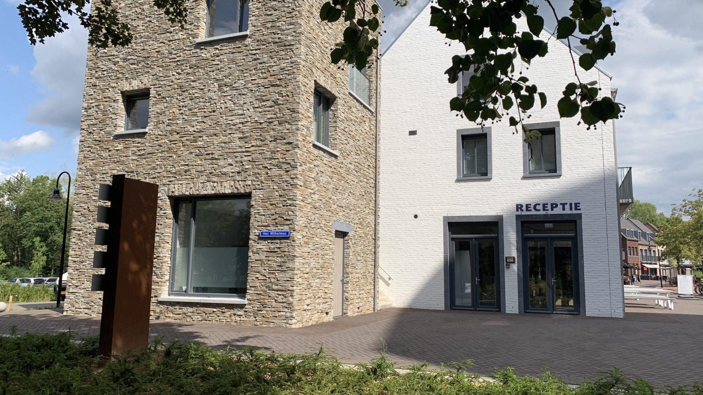 Dormio Resort in Maastricht met Steenstrips